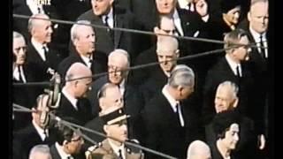 Trauerstaatsakt und Staatsbegräbnis für Konrad Adenauer