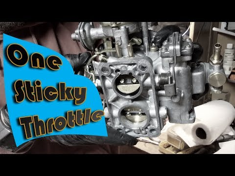 Weber Carburetor throttle sticking? This might be your fix! - Blaster Teflon Dry Lube
