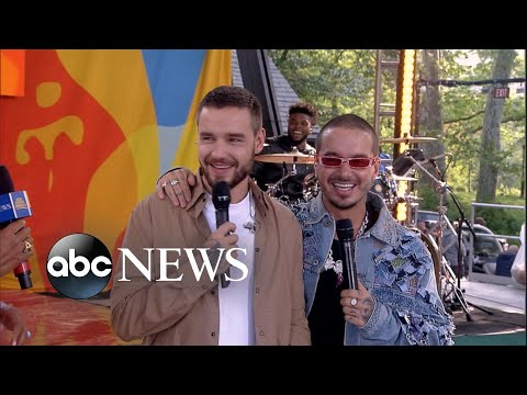 Liam Payne and J Balvin dish on viral music video