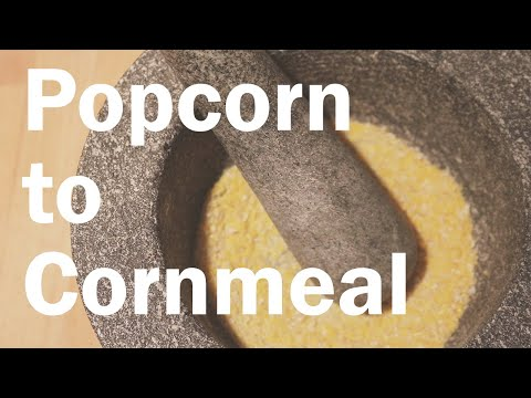 How to Make Corn Meal from Popcorn