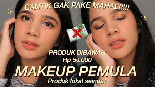 Video TUTORIAL MAKEUP PEMULA PAKAI PRODUK LOKAL DI BAWAH 50RIBU download MP3, 3GP, MP4, WEBM, AVI, FLV Oktober 2019