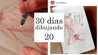 DESNUDO | 30 Días Dibujando - Samuel Dhante