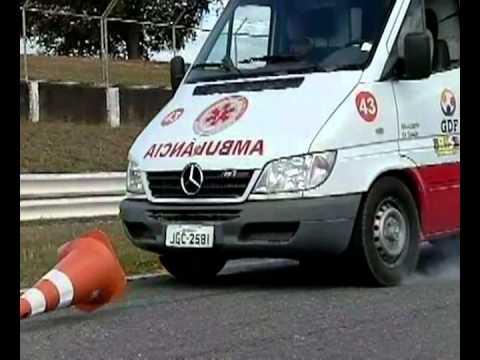 Curso de condutor de veiculo de emergencia