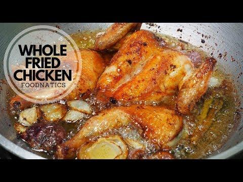 WHOLE FRIED CHICKEN | THE TASTIEST & JUICIEST WHOLE FRIED CHICKEN (Inspired By Almazan Kitchen)