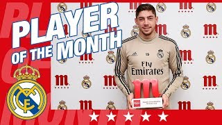 Fede Valverde is named December's Mahou Five Star Player!