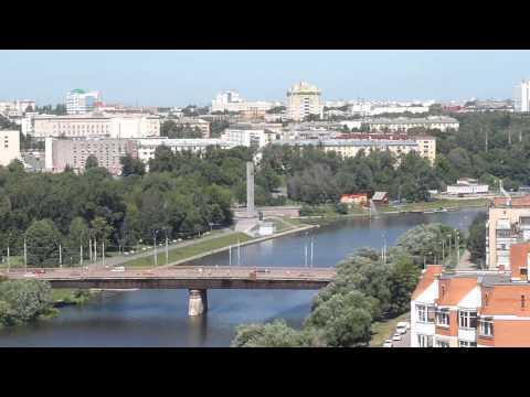 Город Орёл, панорама, центр.
