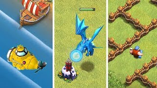 FUNNY MOMENTS IN COC 2   Clash of clans   GODSON INTROS!