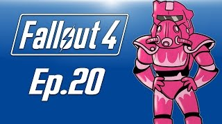Delirious plays Fallout 4! Ep. 20 (PINK POWER ARMOR) Minutemen Missions!