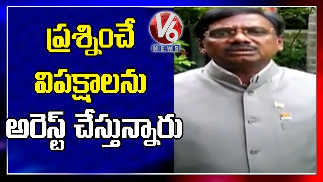 BJP Vivek Venkataswamy Condemns KTR Asks Corona Prevention Suggestions From Oppositions   V6 News