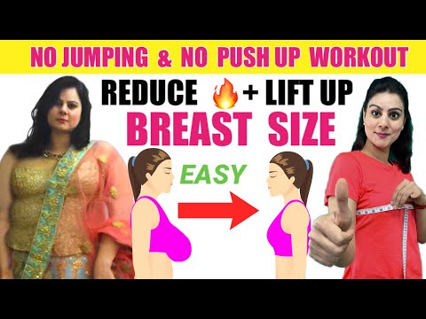 How to Reduce Breast Fat + Lift Breast Size in 14 Days | 7 Easy Exercise To Reduce Breast Size Fast