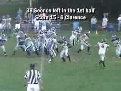2005 Clarence Bulldogs 14u Vs East Aurora