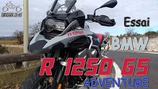 Essai #27 - BMW R1250GS Adventure - 2019
