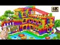 - Build Beautiful Mega Villa Has Swimming Pool For Turtle and Hamster With Magnetic Balls Satisfying