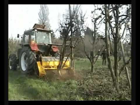 Prächtig Orsi 'W-Forrest' forestry mulcher - YouTube #BW_47