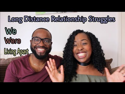We Were Living Apart| Long Distance| Our Struggles