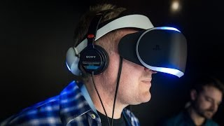 Hands-On: Sony's 'Project Morpheus' PlayStation 4 Virtual Reality Headset(This is an exciting time for virtual reality enthusiasts. Sony announced their Project Morpheus VR headset, and we got to go hands-on with it at this year's GDC., 2014-03-21T07:07:06.000Z)