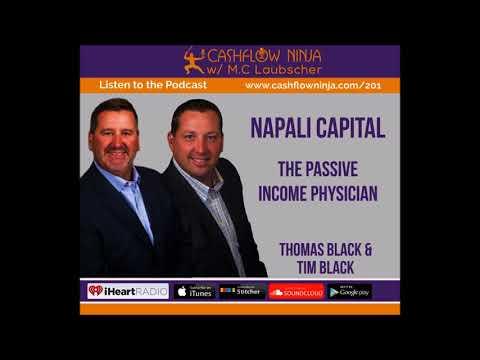 201: Tom Black & Tim Black: The Passive Income Physician