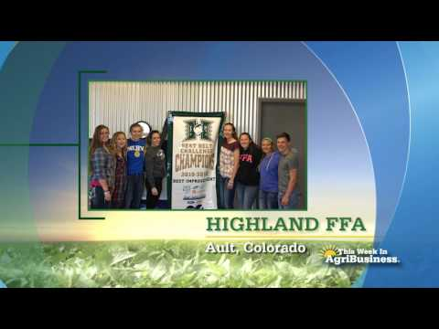 Highland FFA - FFA Chapter Tribute's - This Week in Agribusiness
