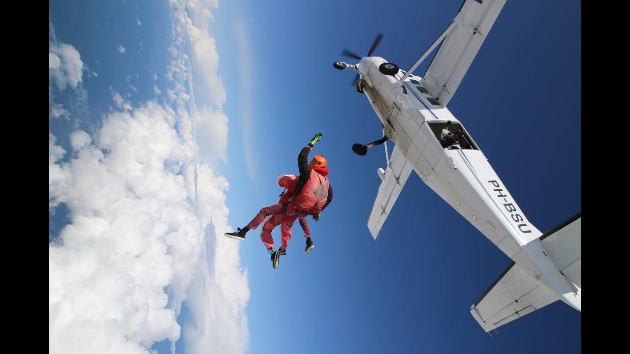 Sky Diving | Texel | Netherlands | Adventure Sports | Europe