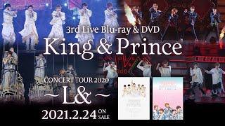 2020年10月9〜11日に実施されたグループ単体としては初となる配信ライブ 「King & Prince CONCERT TOUR 2020 〜L&〜」を収録したライブ映像商品 □初回限定 ...