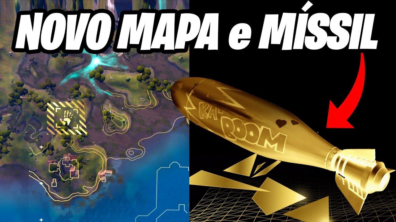 Fortnite - NOVO MAPA NO TEASER e TORPEDO DE SUBMARINO