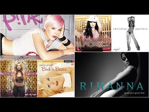 My Top 20 Female Pop Albums 2000s (Please Read the description)