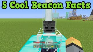 Minecraft Xbox 360 + PS3  5 Cool Beacon Facts