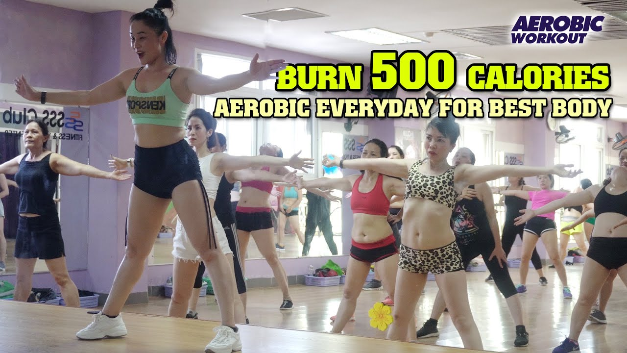 Burn 500 Calories Aerobic Exercise l 40 Mins Aerobic Everyday for Best Body Shape l Aerobic Workout