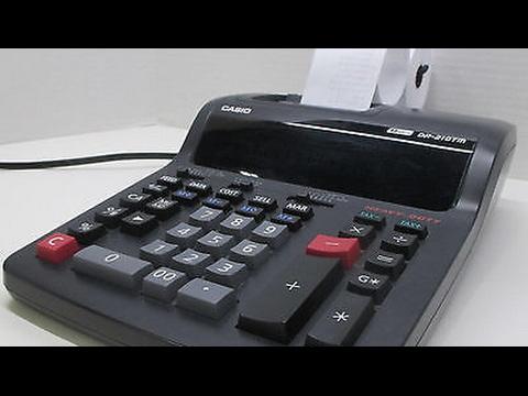 Casio DR-210TM Adding Machine