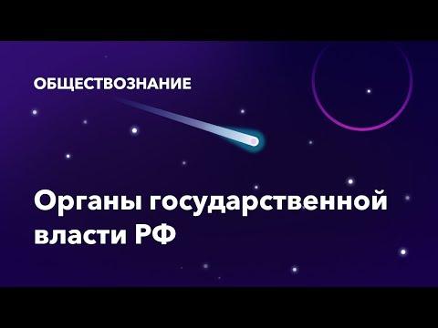 25. Органы государственной власти РФ