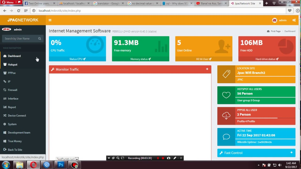 Mikrotik Api Management System v3