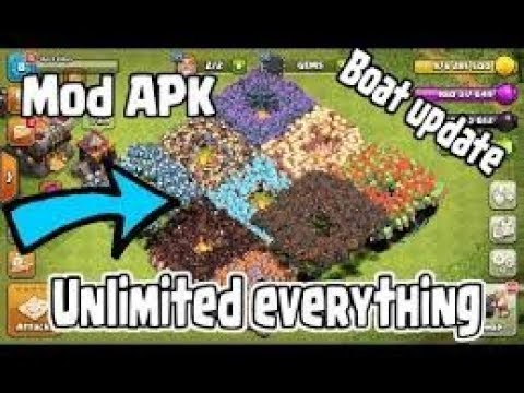 Clash Of Clans Private Server 2017   UNLIMITED TROOPS AND SPELLS    UPDATE SEPTEMBER   WORKING!!!!!