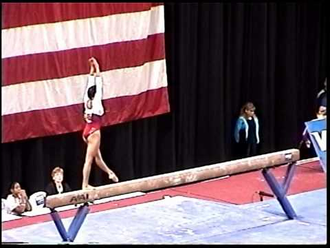 Kayla Hoffman (Rebound) - 2005 US Sr Nationals - Beam (Day 1)