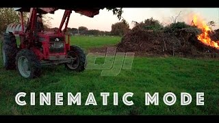 DJI Mavic Pro - Cinematic Mode