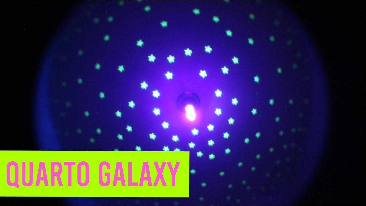 Transformando O Teto Do Meu Quarto Em Galáxia