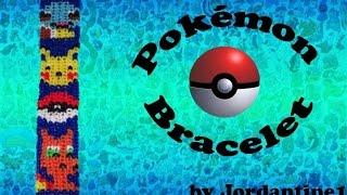 New Pokemon Go Bracelet Rainbow / Alpha Loom Squirtle Pikachu PokeBall Charizard