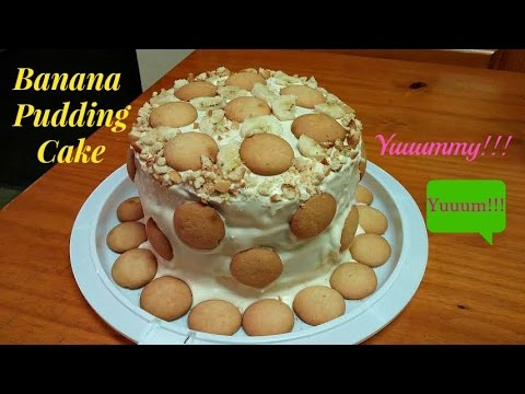 How To Make A Banana Pudding Cake Surprise Flavoring Ingredients