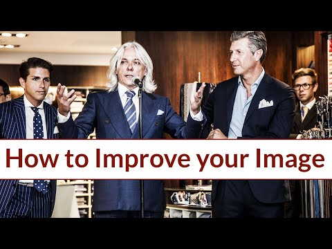 How to improve your Image: a good sartorial education can (really) change your life