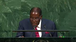 Mugabe Calls on US President To Trumpet Peace Not Damnation