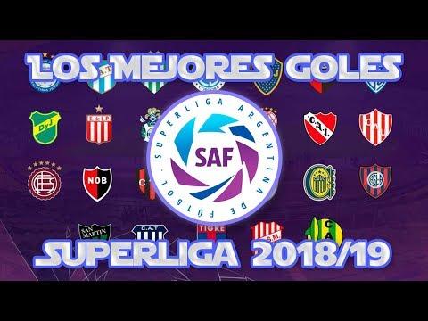 EL MEJOR GOL DE CADA EQUIPO DE LA SUPERLIGA ARGENTINA 2018/2019