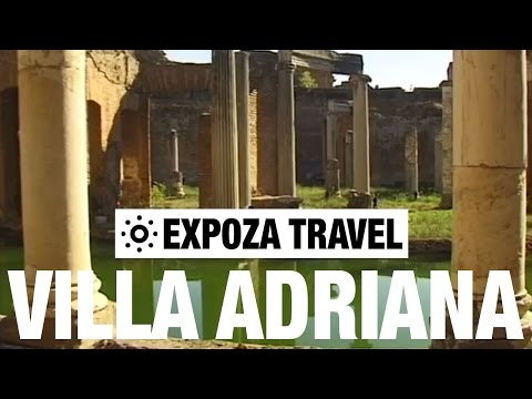 Villa Adriana (Italy) Vacation Travel Video Guide