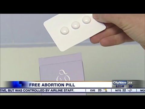 Ontario Women To Get Free Access To Abortion Pill