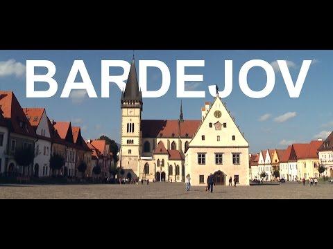 Bardejov - Beautiful city in eastern Slovakia