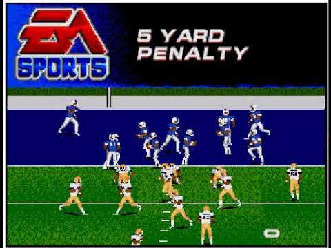 College Football USA '97 (video 162) (Sega Megadrive / Genesis)