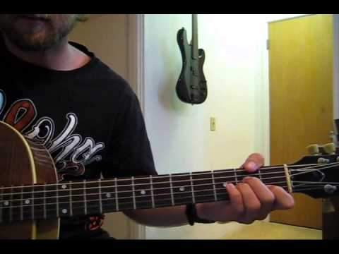 how to play an open am chord on guitar