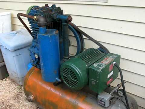 Model 230 Quincy Air Compressor Update
