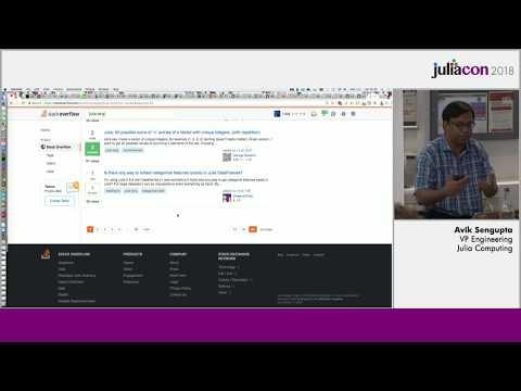 JuliaCon 2018   Natural Language Processing Workshop Using Julia   Avik Sengupta