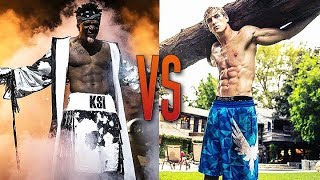 KSI VS LOGAN PAUL TRAINING *NEW FOOTAGE* - WHO WILL WIN?! - FITNESS MOTIVATION 2018
