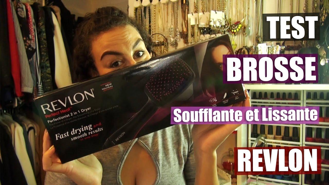 Test de la brosse soufflante et lissante Revlon - YouTube b8ccedd1901b