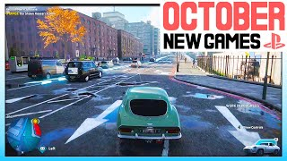 13 AWESOME NEW PS4 GAṀES COMING OCTOBER 2020 - BIG PLAYSTATION 4 GAMES NEXT MONTH!